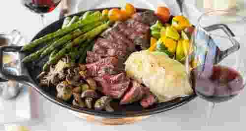 Брутальный ужин на 23 февраля: рецепты
