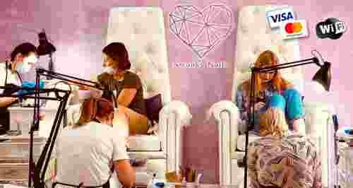 Скидки до 100% на ногтевой сервис студии Swanky Nails