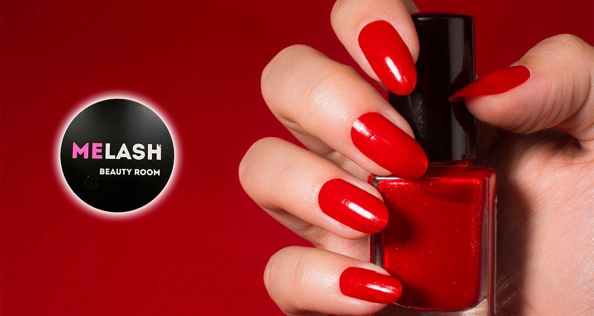 Скидки до 70% на маникюр и педикюр в Melash Beauty Room