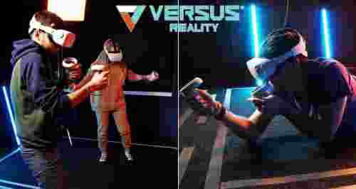 Скидки до 50% от клуба виртуальной реальности Versus Reality