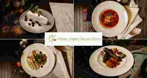 Скидка 50% на все в ресторане «Белые ночи» на набережной