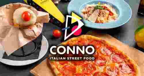 Скидки 50% на все меню и 30% на напитки в ресторане Conno