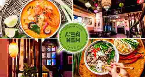 Скидки 30% на все меню и напитки от ресторана Nem Nem