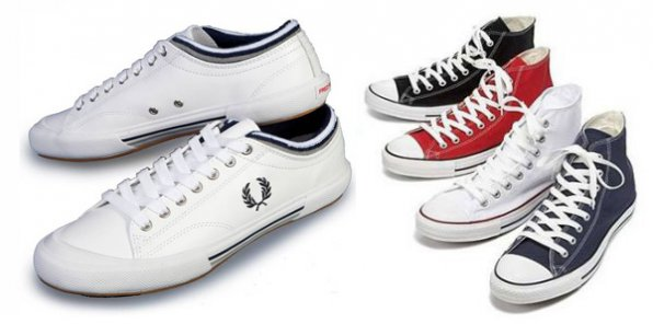 Родные Converse и Fred Perry за 1500р.!