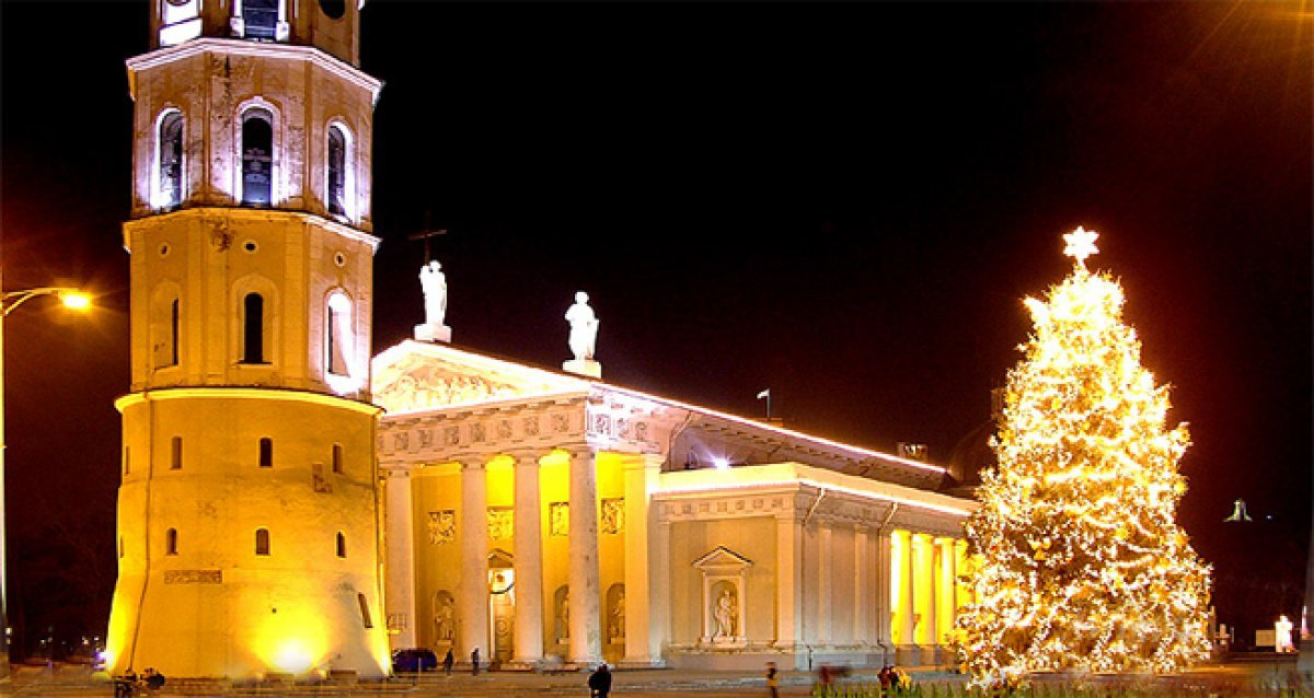 Новый год в старом Вильнюсе