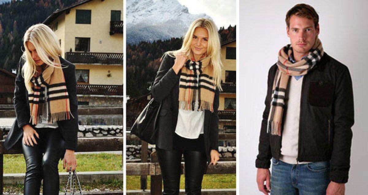 Стильная осень с брендовыми шарфами!