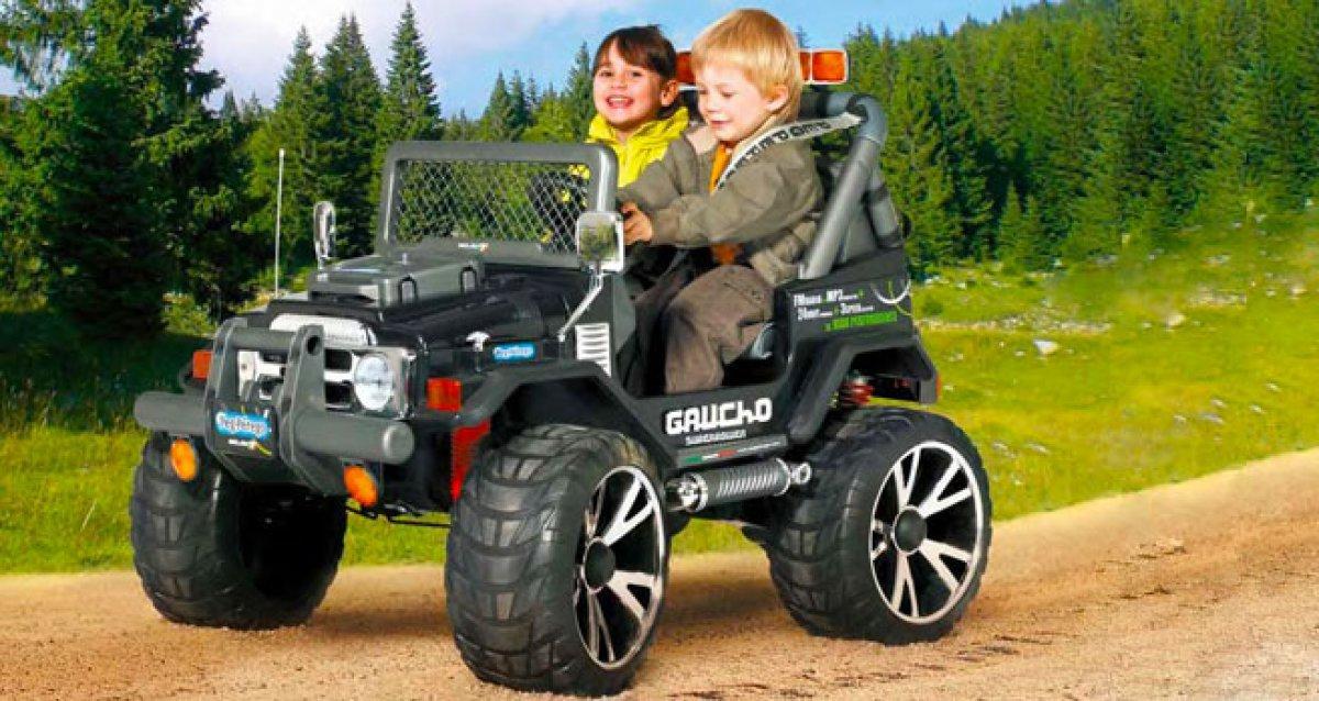 Детский электромобиль - мечта любого мальчишки!