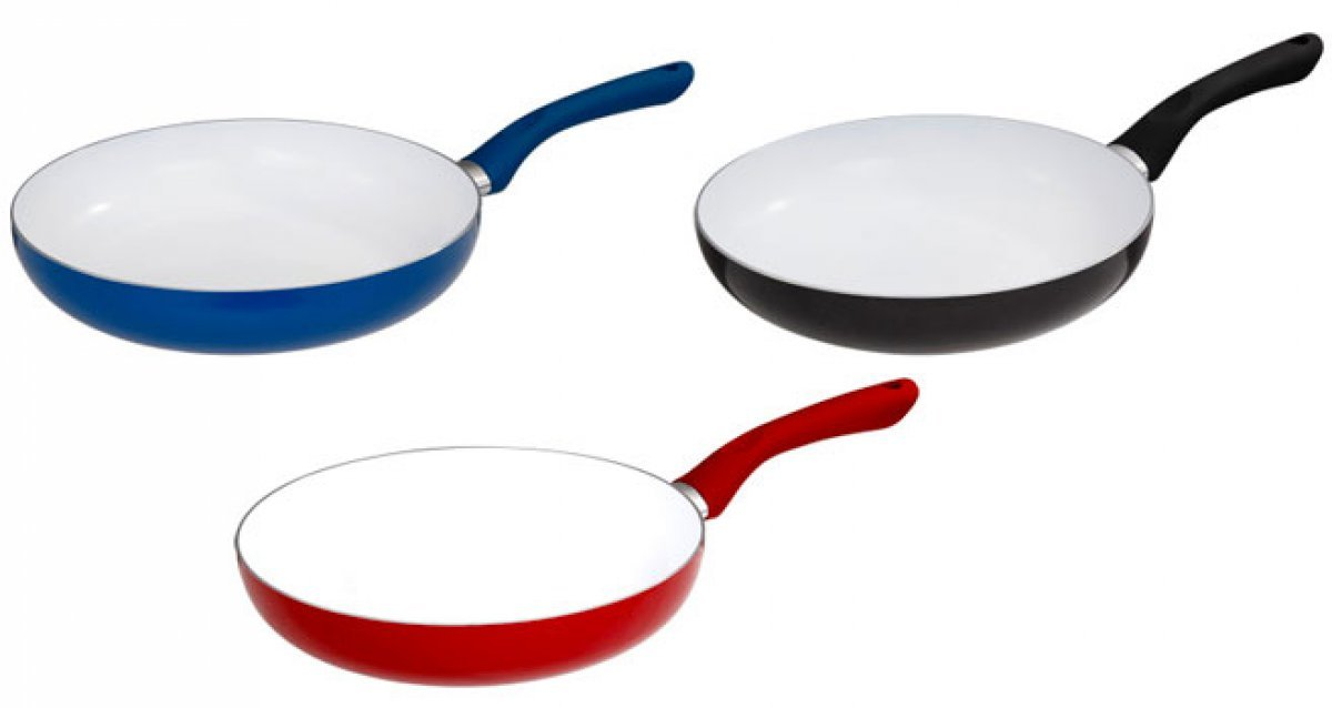 Сковороды <br>с антипригарным керамическим покрытием!
