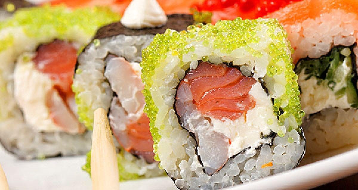 Хотите попробовать настоящие суши?