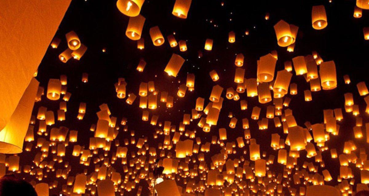Небесные фонарики почти бесплатно!