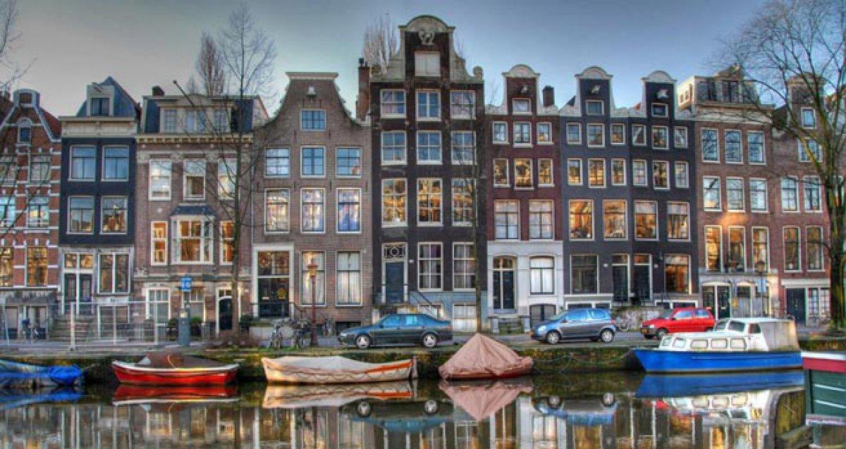 Амстердам - город контрастов