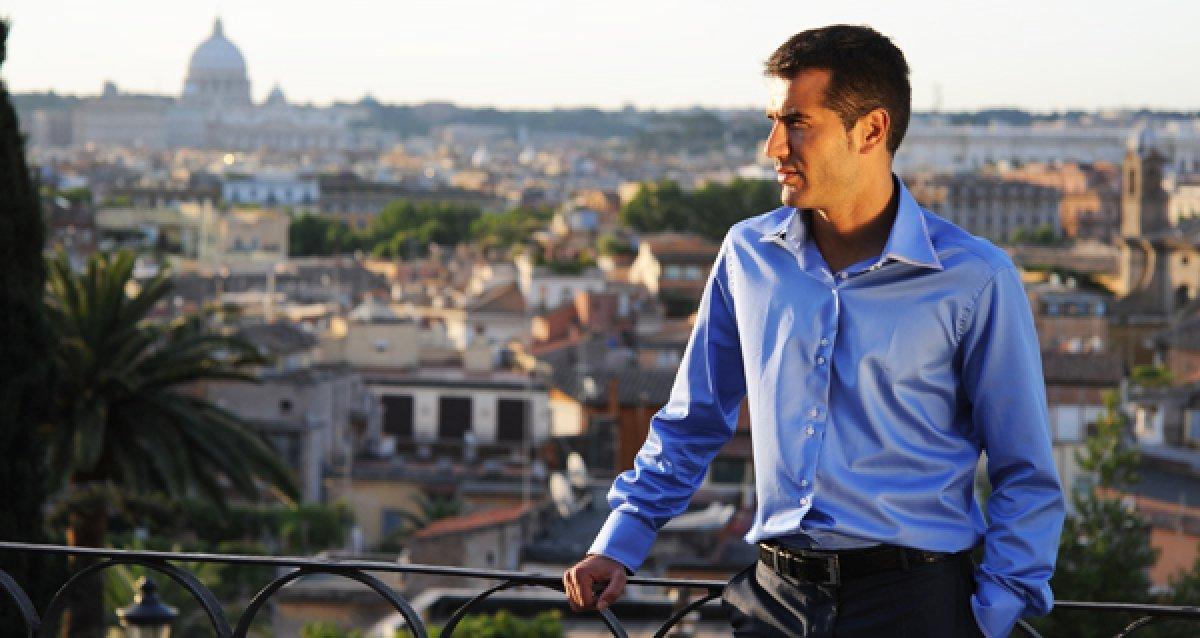 Cкидка 40% на весь ассортимент мужских сорочек от Poggino