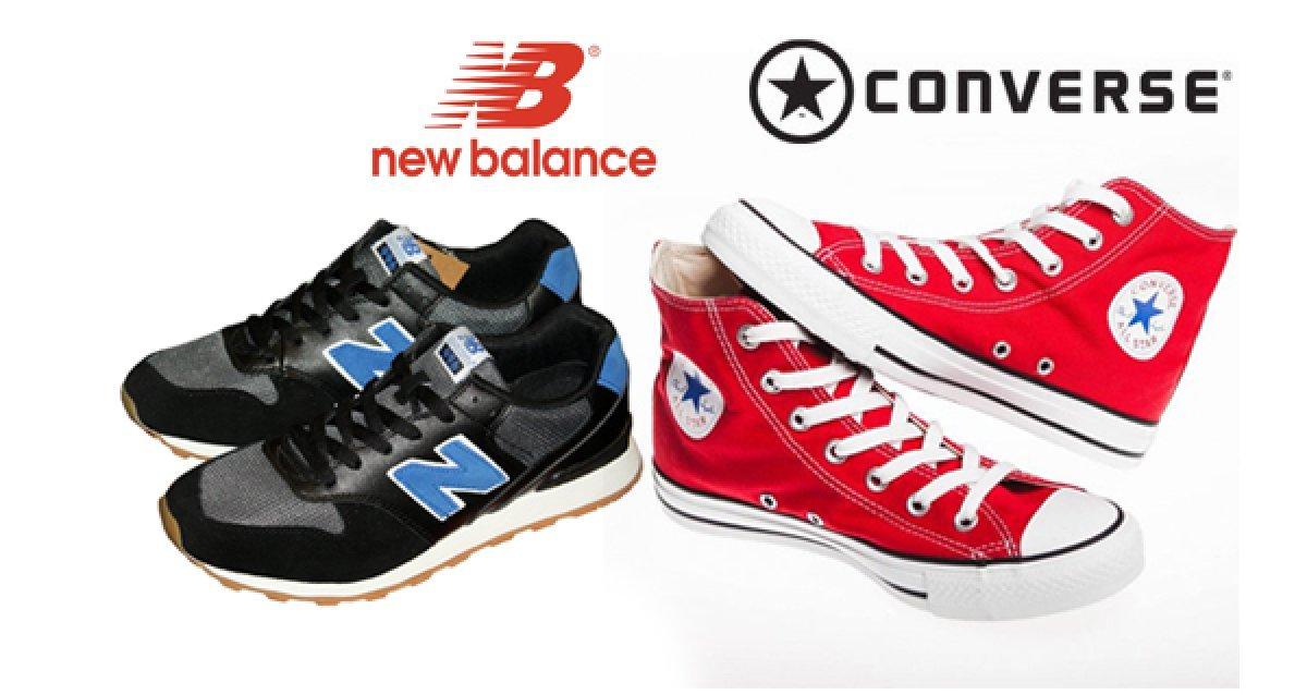 Классика спортивной обуви! Всего 1500р. за любую пару кроссовок New Balance и кед Converse в youth.su!
