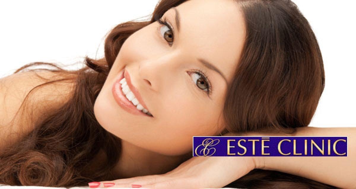 Эффективная подтяжка лица и шеи без операции в Este Clinic! Нитевой лифтинг Silhouette Soft и 3D мезонити Miracu со скидками до 61%