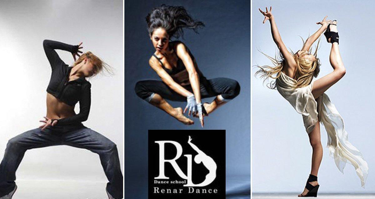 Говорите на языке тела! Скидка 57% на 8 часов занятий танцами по всем направлениям в школе танцев RenarDance