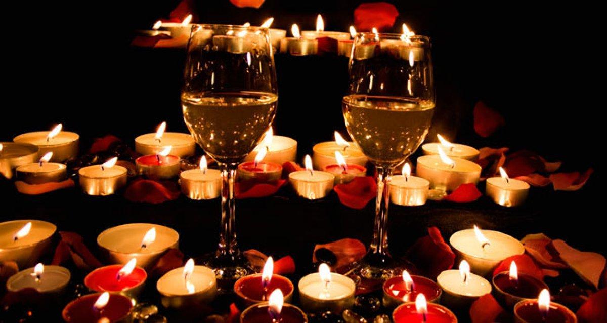 Устройте себе романтический вечер при свечах