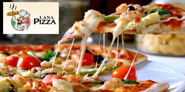 20 видов итальянской пиццы! Скидка 50% на пиццу и пироги с бесплатной доставкой на дом или в офис