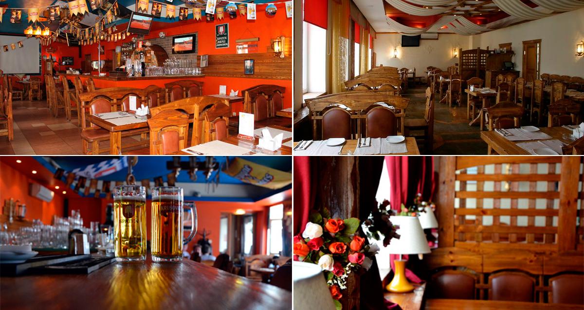 интерьер ресторана Grossbeer