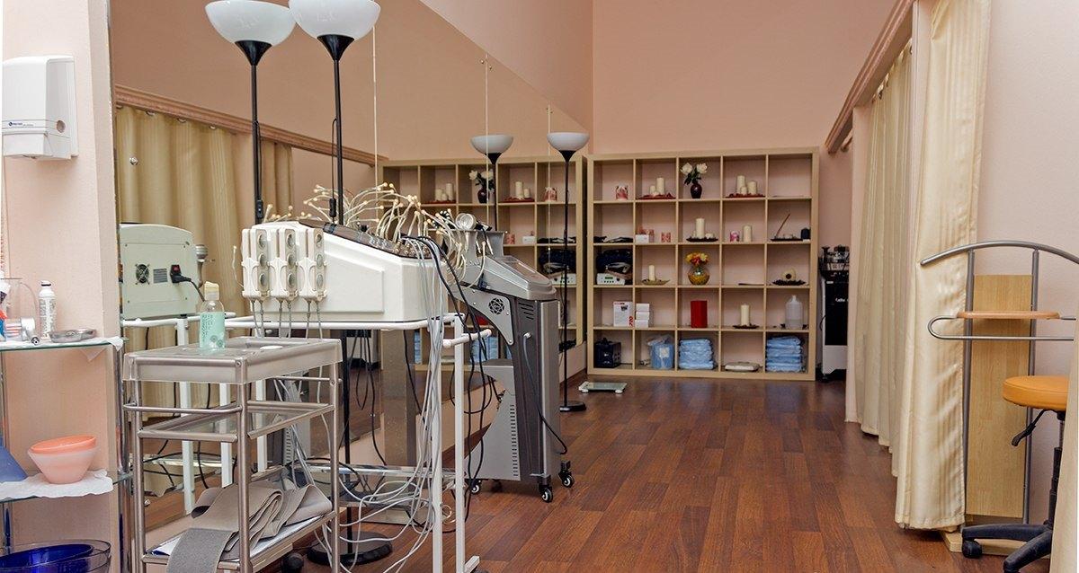 клиника «Здоровье» оборудование