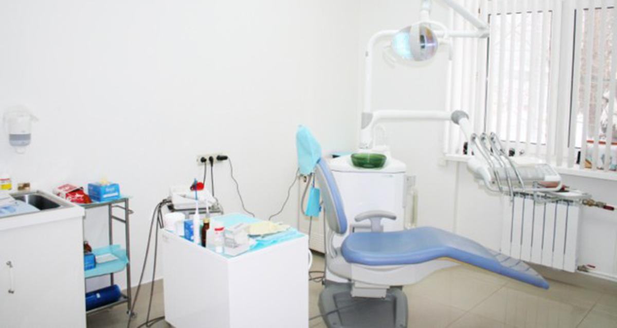 интерьер стоматологии MG Clinic