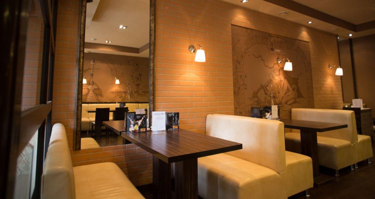 интерьер кафе «Сижу Курю»