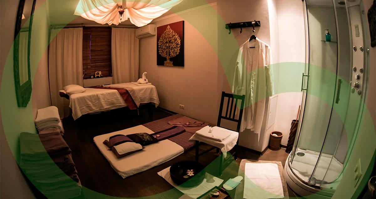 интерьер салона тайского и балийского массажа