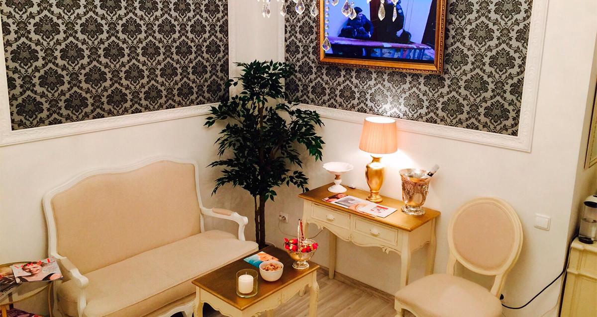 интерьер клиники красоты «Слава»