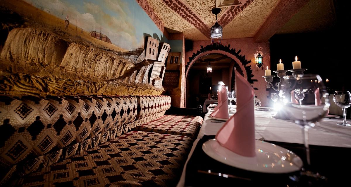 интерьер ресторана Marrakesh lounge
