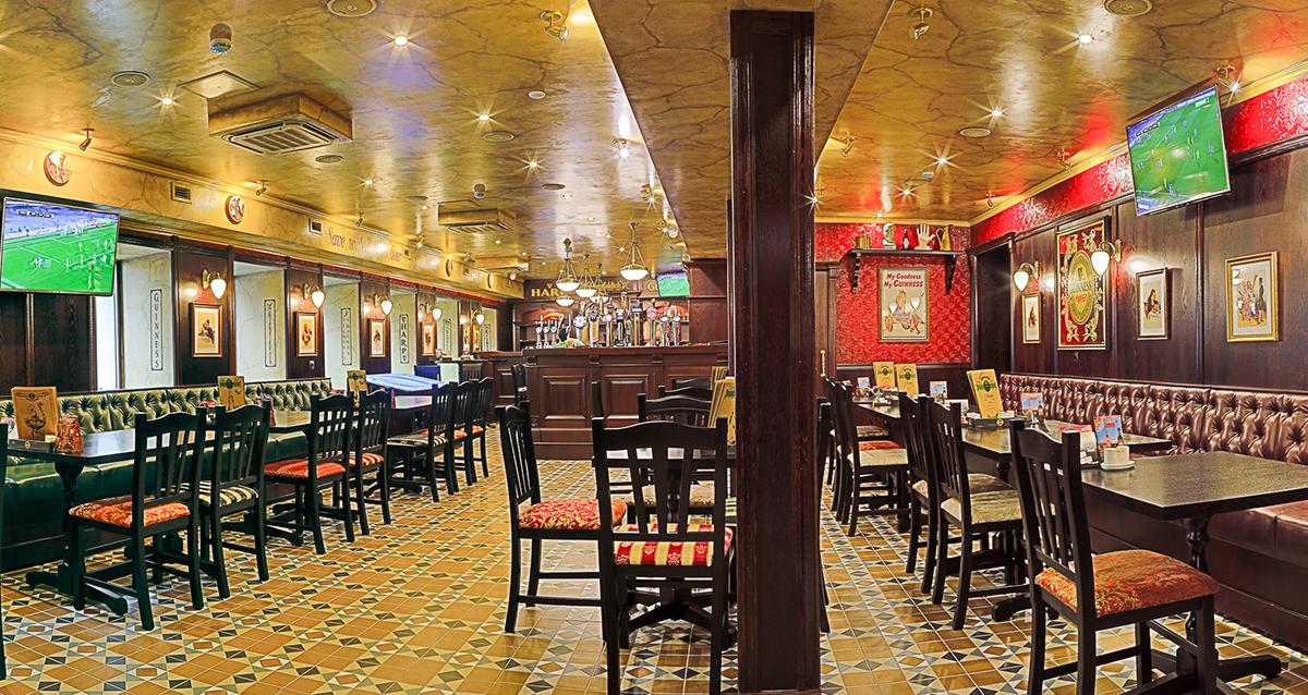 интерьер O'Connell's Pub
