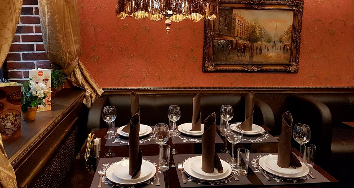 интерьер ресторана «Шантимель»
