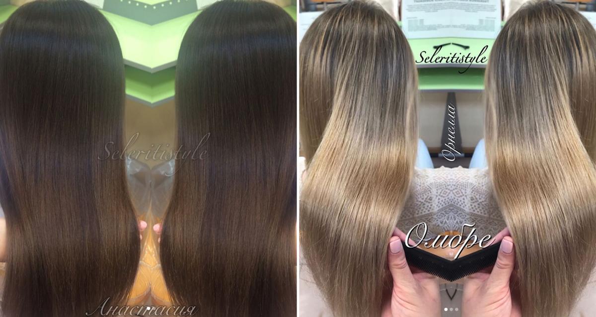 окрашивание волос в SeleritiStyle