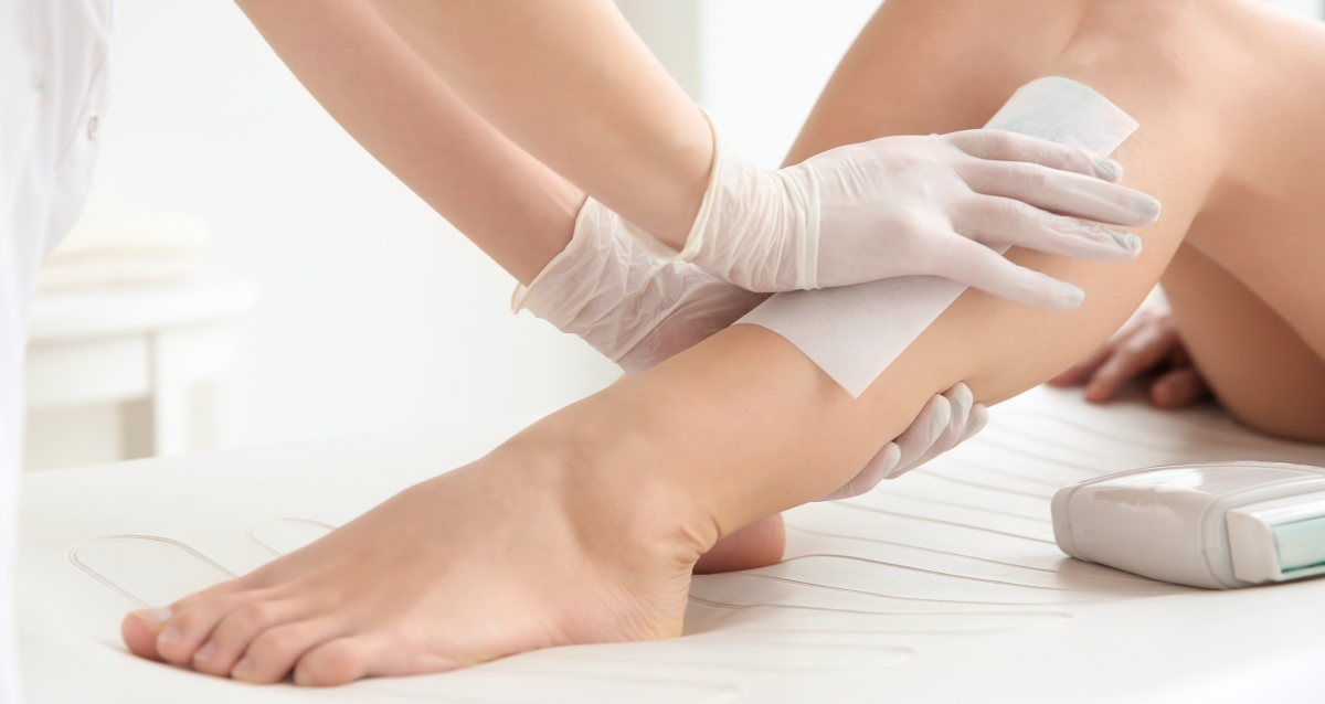 депиляция ног