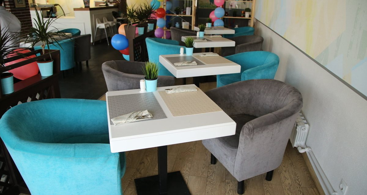 интерьер ресторана «Хайям»
