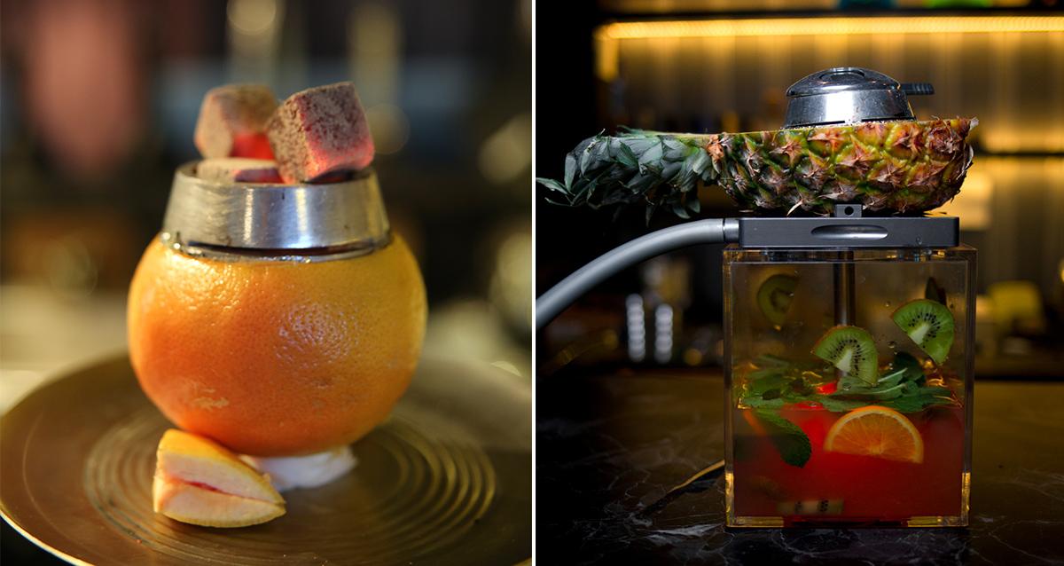 коктейль в CRYPTO BAR