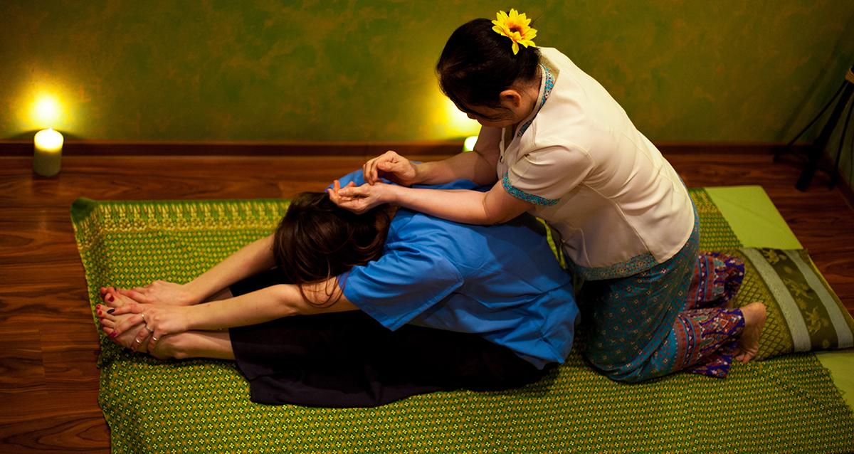 массаж в салоне тайского массажа SIAM