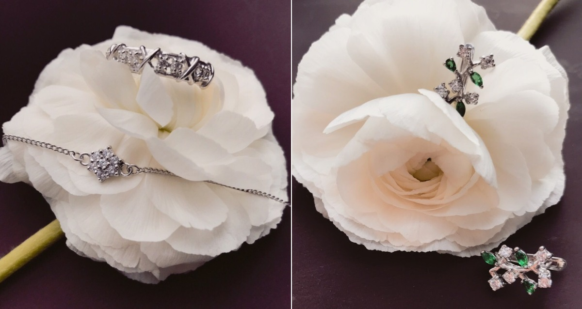 украшения из серебра от Quizas Jewelry