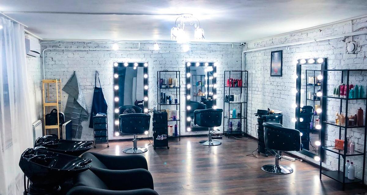 интерьер салона красоты «Малика»