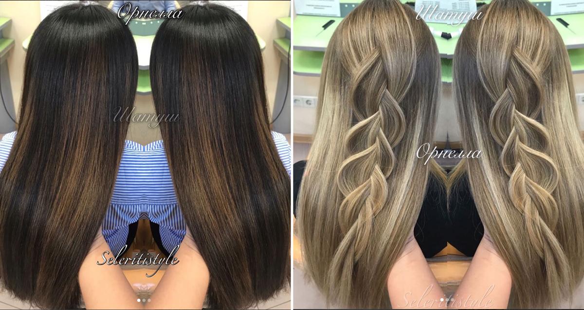 услуги для волос в SeleritiStyle